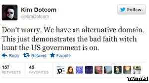 Doctom expressando sua frustração, No Twitter, com o governo do Gabão (Foto: Reprodução)