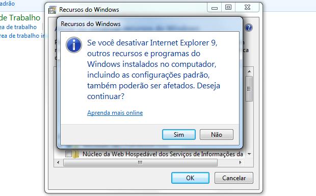 Desinstalar Internet Explorer - Passo 4 (Foto: TechTudo/Helito Bijora)