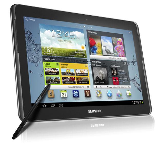 A Apple volta a acusar a Samsung por infração de patentes com o Galaxy Note 10.1 (Foto: Divulgação)