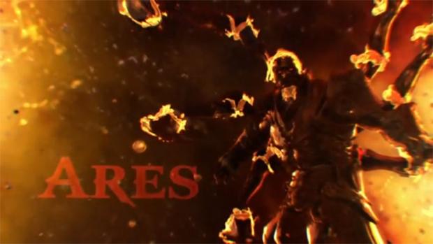 Jurando fidelidade à Ares, jogadores se tornam super guerreiros (Foto: Divulgação)