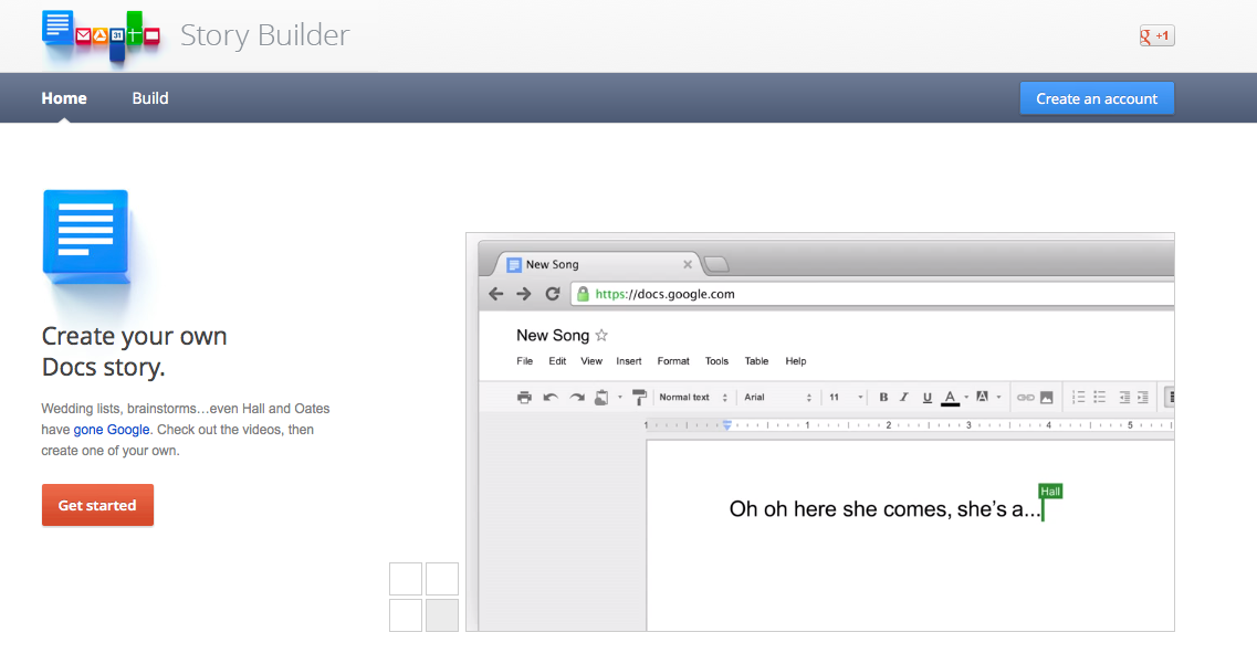 Google Story Builder permite criar histórias em forma de vídeos (Foto: Reprodução)
