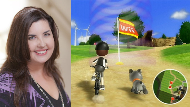 Professora Elizabeth mostra uso do virtual como incentivo real (Foto: MU News Bureau)