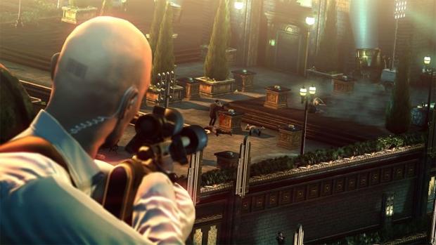 O minigame Hitman: Sniper Challenge será distribuído para os compradores (Foto: Divulgação)