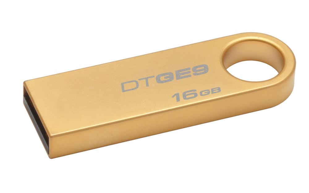 Novo Data Traveler GE9 revestido em ouro (Foto: Reprodução)