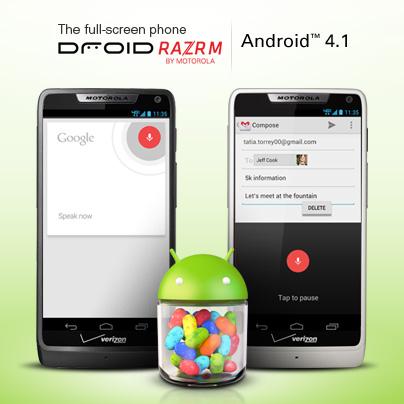 Motorola quer que usuários utilizem o Jelly Bean (Foto: Reprodução)