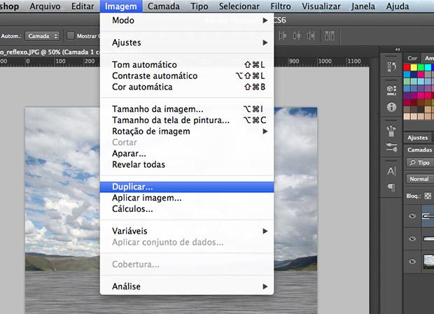 Duplicando o arquivo e salvando a cópia (Foto: Reprodução/Adriano Hamaguchi)