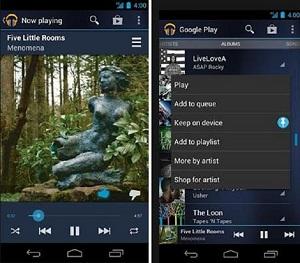 Google Play Music chegou, mas cheio de limitações (Foto: Reprodução)