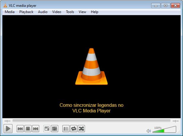 VLC permite a sincronização de áudio e legenda (Foto: Reprodução)