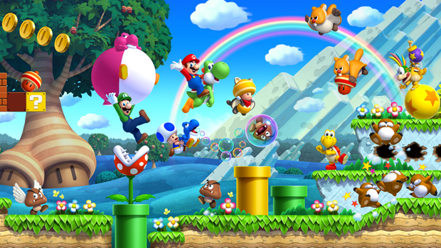 9 New Super Mario Bros U Wii U (Foto: 9 New Super Mario Bros U Wii U)