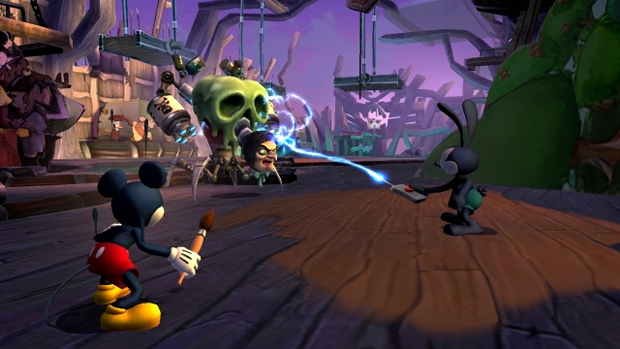 Disney Epic Mickey 2: The Power of Two (Foto: Divulgação) (Foto: Disney Epic Mickey 2: The Power of Two (Foto: Divulgação))