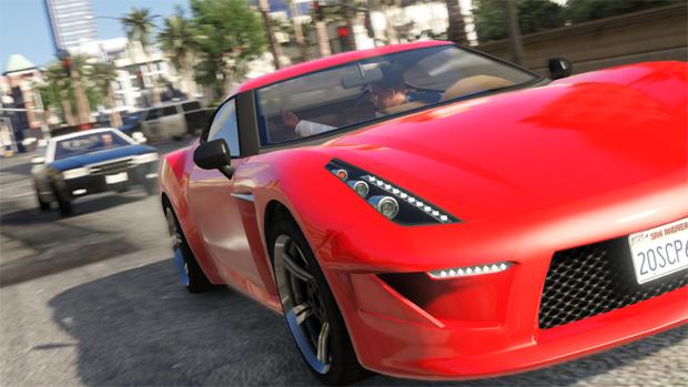 Trailer de GTA 5 tem foco na ação com os personagens (Foto: Divulgação)