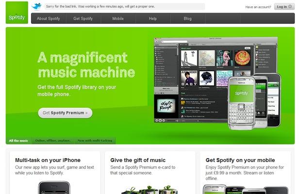 Spotify pode ganhar versão brasileira em breve (Foto: Reprodução/Spotify)