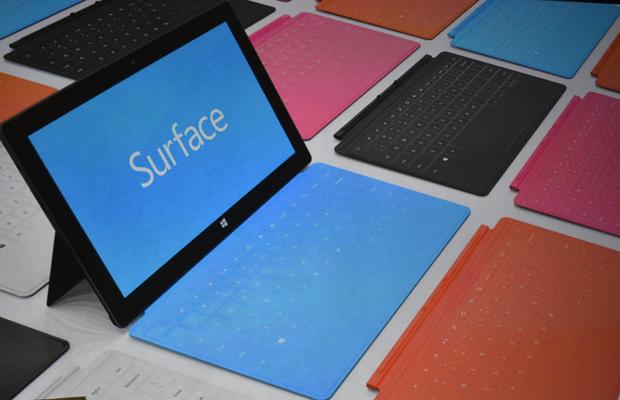 Surface está recebendo primeiro update (Foto: Reprodução)