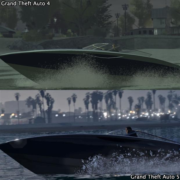 Os efeitos de água em GTA 5 impressionam muito (Foto: GamingBolt)