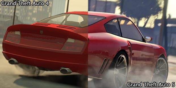 Grand Theft Auto 5 mostra grande avanço em comparação com GTA 4 (Foto: GamingBolt)