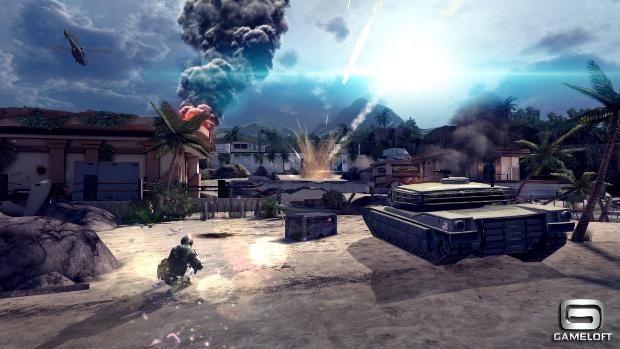 Modern Combat 4 Impressiona pelo requinte nos gráficos (Foto: Divulgação)