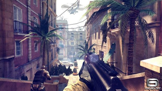 Modern Combat 4, game chega ainda este ano para smartphones e tablets (Foto: Divulgação)