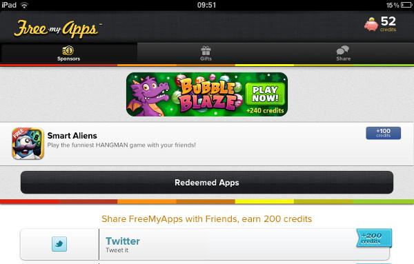 FreeMyApps é uma das melhores opções para quem quer ganhar Gifts Cards de graça (Foto: Divulgação)
