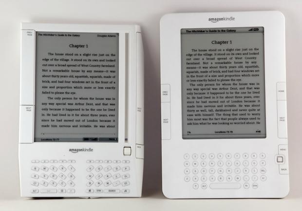 Kindle 1 e Kindle 2 fizeram muito sucesso (Foto: Reprodução/Snowulf)