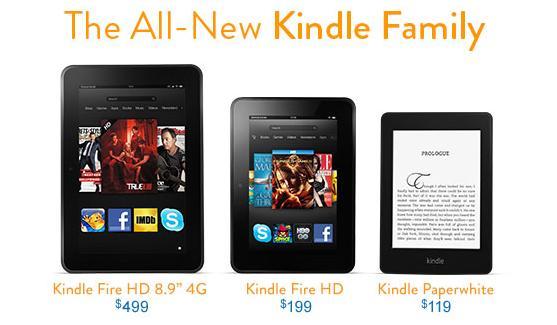 Nova família Kindle pode ser comprada no site da Amazon (Foto: Reprodução/Thiago Barros)