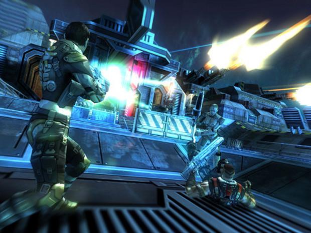 O Shadowgun Deadzone traz gráficos de consoles para o seu iPhone (Foto: Divulgação)