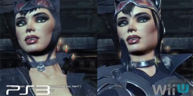 Comparação de Arkham City entre Wii U e PS3 (Foto: Reprodução/GameTrailers) (Foto: Comparação de Arkham City entre Wii U e PS3 (Foto: Reprodução/GameTrailers))