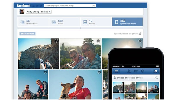 Facebook Photo Sync para iOS copia o Instant Upload do Google+ (Foto: Reprodução)