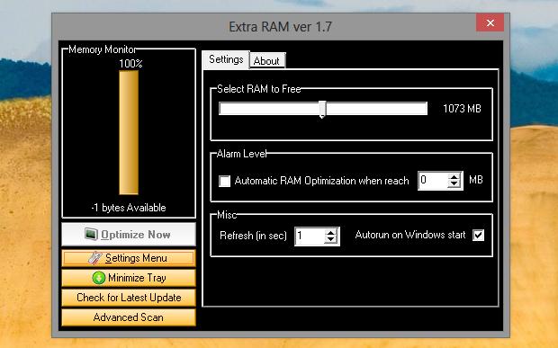Extra RAM (Foto: Reprodução/Helito Bijora)