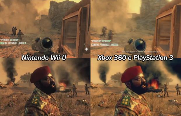Call of Duty: Black Ops 2 do Wii U é superior às versões do X360 e PS3 (Foto: Divulgação)