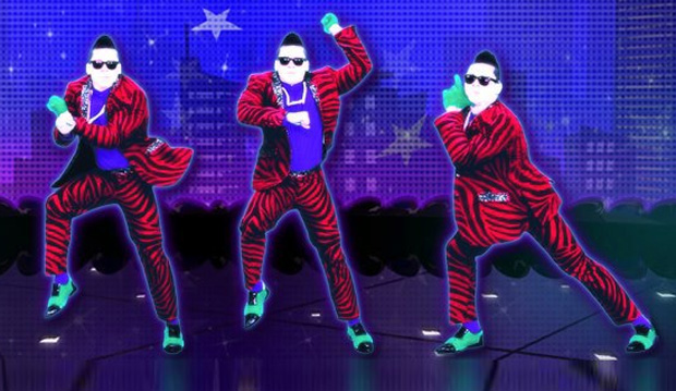 just dance 4 how to get gangnam style