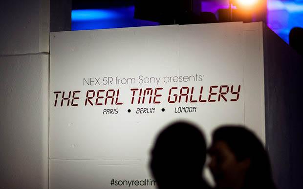 Sony realiza exposição com fotografias tiradas em tempo real (Foto: Reprodução)