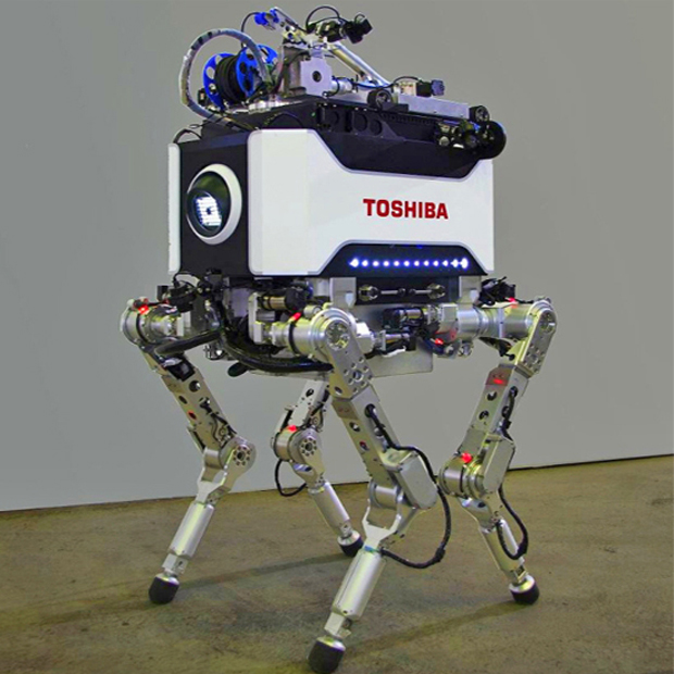 Robô desenvolvido pela Toshiba poderá seu usado na limpeza de Fukushima (Foto: Reprodução)