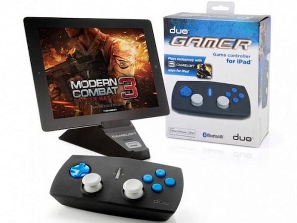Controle com dois analógicos, Duo Gamer é exclusivo para jogos da Gameloft (Foto: Divulgação)