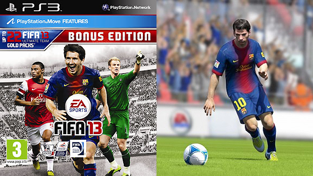 Fifa 13 Bonus Edition trará pontos extras para você se dar bem no Ultimate Team (Foto: Divulgação)