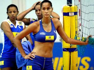 Jacqueline foi a melhor brasileira na lista (Foto: Divulgação/CBV)