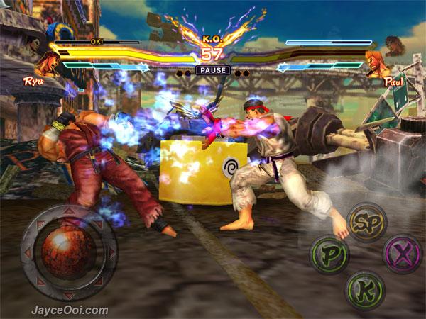 Street Fighter x Tekken Mobile é um dos games mais famosos em promoção (Foto: Reprodução/Jayce Ooi)