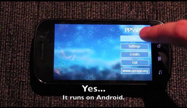 Emulador do PSP chega para Android (Foto: Reprodução / Youtube)