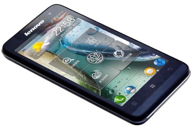 Novo IdeaPhone P770 tem Jelly Bean e bateria de alta duração (Foto: Divulgação)