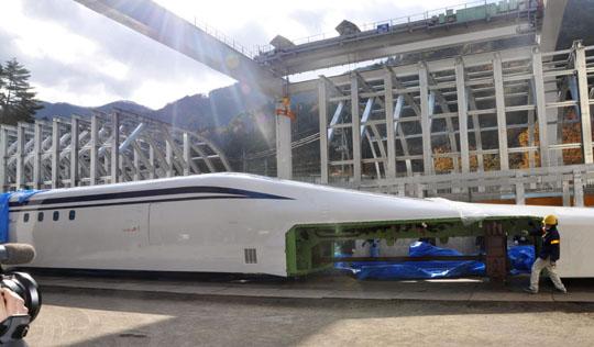 Trem-bala deve operar a uma velocidade de 500 km/hr em 2027 (Foto: Reprodução)