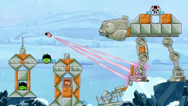 Angry Birds Star Wars recebe expansão Hoth Episode com Princesa Leia (Foto: Divulgação) (Foto: Angry Birds Star Wars recebe expansão Hoth Episode com Princesa Leia (Foto: Divulgação))