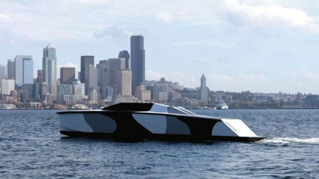 Extremamente leve, o Piranha adapta a ideia dos aviões não tripulados para a água (Foto: Divulgação)
