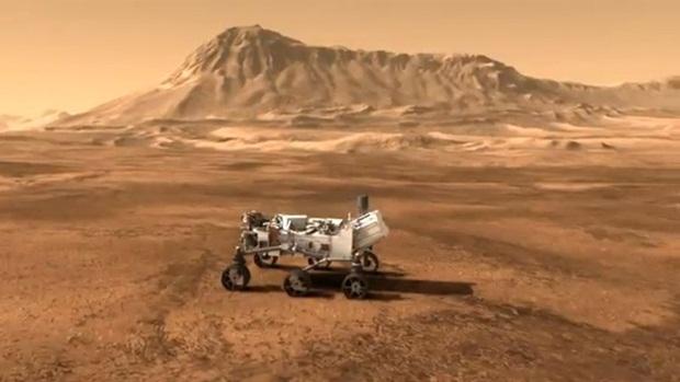 Curiosity Rover, que está na superfície de Marte desde agosto (Foto: Reprodução)