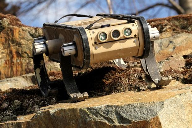 RHex, robô que consegue andar em qualquer terreno (Foto: Reprodução)