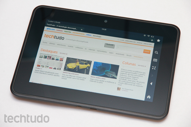 Kindle Fire HD de 7 polegadas (Foto: Allan Melo / TechTudo)