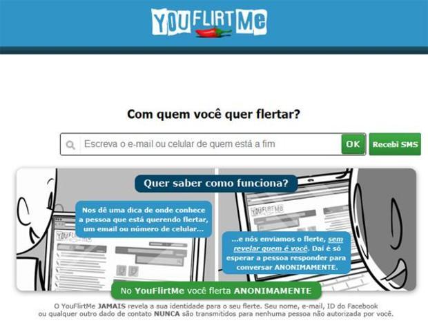 YouFlirtMe ajuda os mais tímidos a encontrar alguém (Foto: Reprodução)