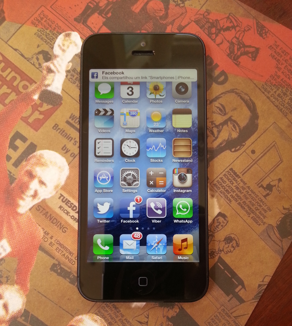 iPhone 5 inicia vendas no Brasil no próximo dia 14 (Foto: Rodrigo Bastos/TechTudo)