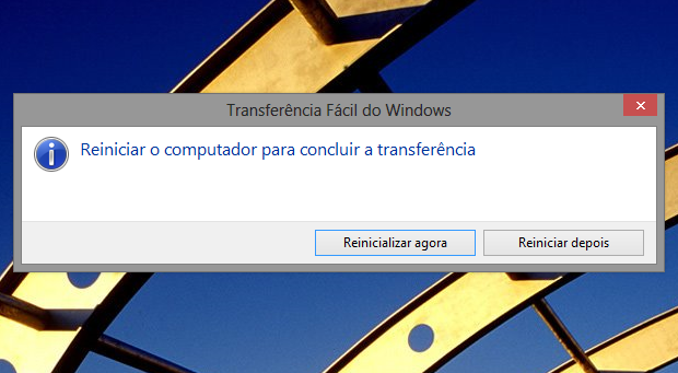 Para concluir, é necessário reiniciar o Windows (Foto: Reprodução/Helito Bijora)