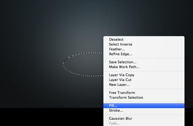 Clique com o botão direito do mouse escolha a opção Fill. (Foto: Reprodução/André Sugai)