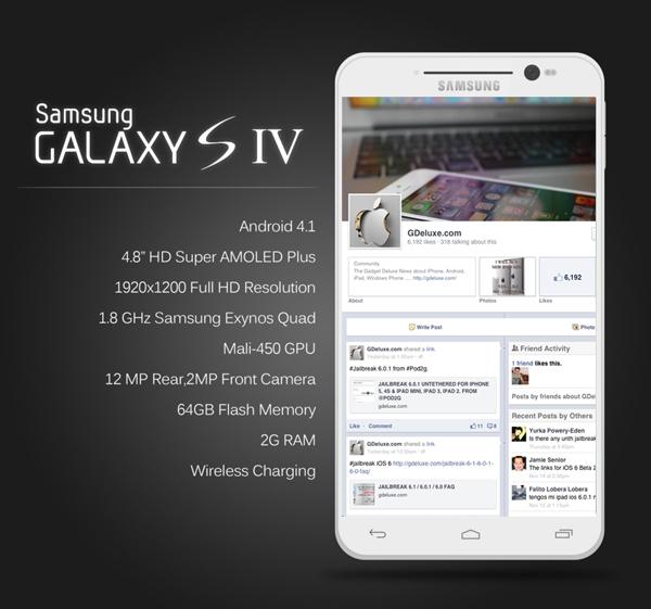 Galaxy S4 será apresentado em abril de 2013? (Foto: Reprodução/IBnews)