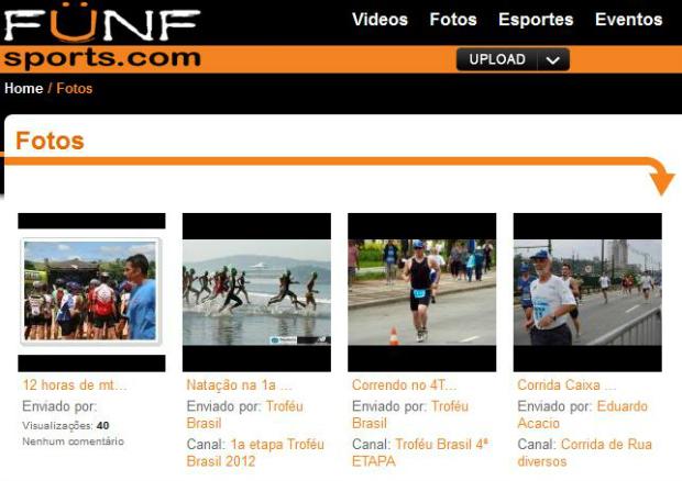 Funf reúne fotos e vídeos de esporte (Foto: Reprodução/Thiago Barros) (Foto: Funf reúne fotos e vídeos de esporte (Foto: Reprodução/Thiago Barros))